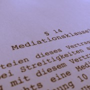 Mediationsklausel