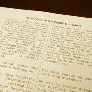 Conflict Management Codex