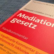 Klowait Glässer Mediationsgesetz Kommentar