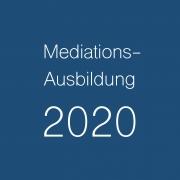 Mediationsausbildung 2020